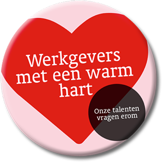 Warm Hart Button